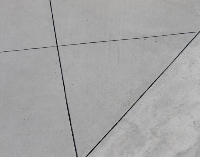 Pavimentazione esterna in calcestruzzo